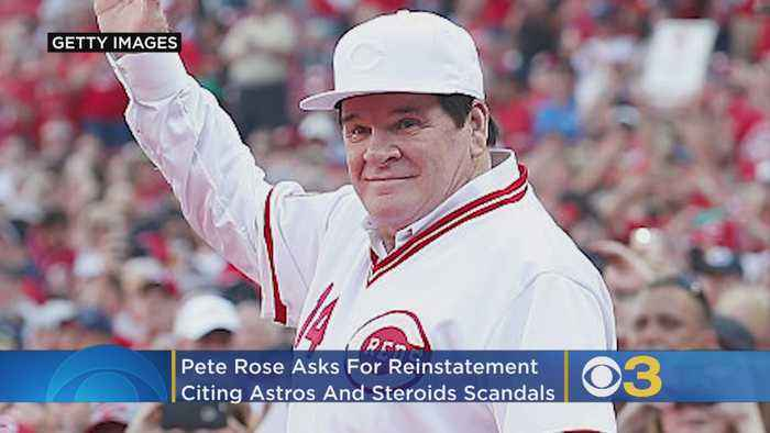 Pete Rose Asks For Reinstatement, Cites Astros And Steroids