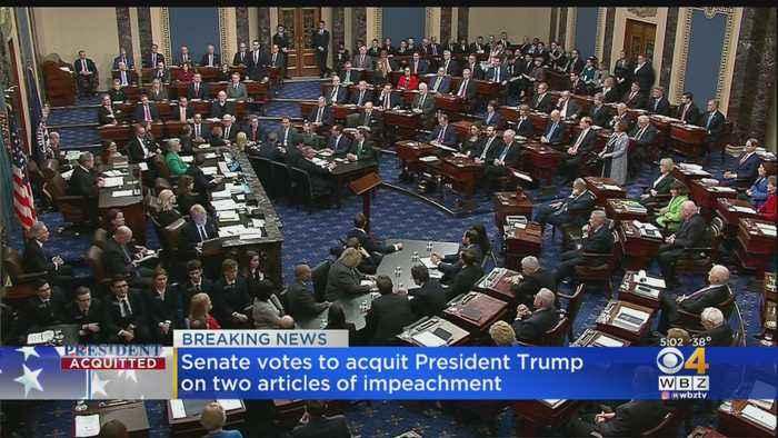 Senate Votes To Acquit President Trump On 2 Articles Of Impeachment