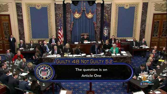 Senate Acquits President Trump On Both Articles Of Impeachment