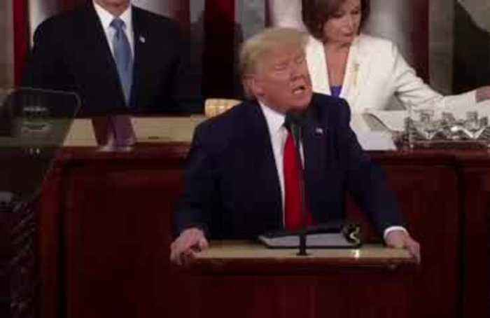 Pelosi appears to pre-rip speech during State of the Union