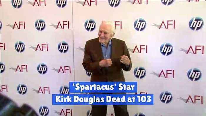 'Spartacus' Star Kirk Douglas Dead at 103