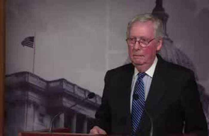 McConnell avoids question on Trump's conduct
