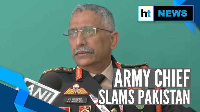 'Pakistan getting desperate to push terrorists across border': Army Chief
