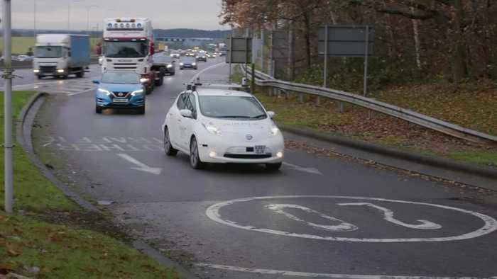 Nissan completes autonomous drive on UK roads