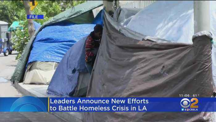LA Mayor Announces New Programs To Prevent Homelessness