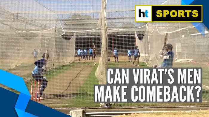 Watch: India sweat it out ahead of 2nd ODI against New Zealand