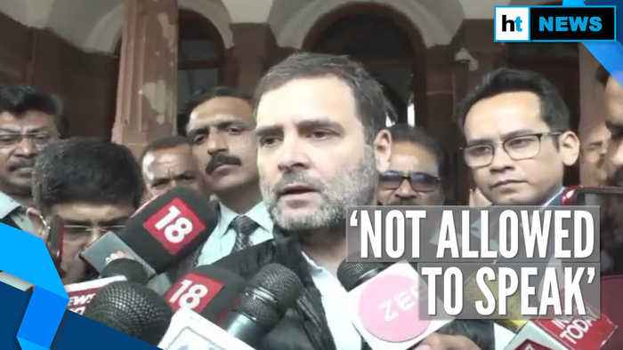 Not allowed to speak: Rahul slams Harsh Vardhan over ruckus in Parliament