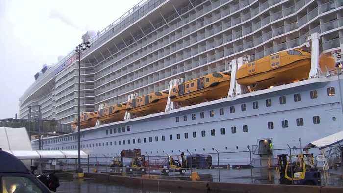 WEB EXTRA: Royal Caribbean Testing Passengers For Corona Virus