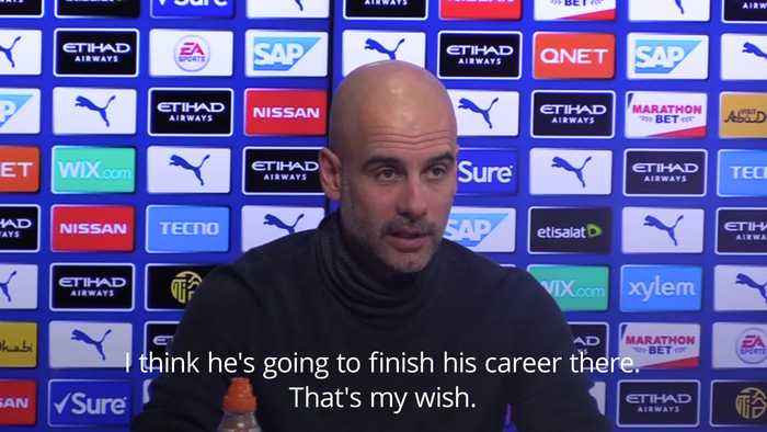 Pep Guardiola rejects claims that Lionel Messi may join Manchester City