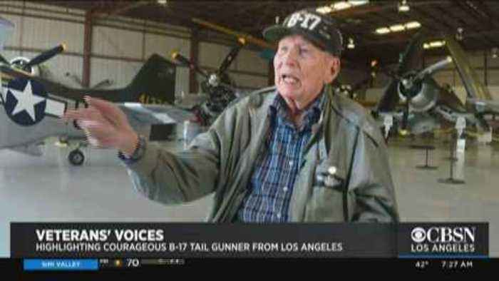 B-17 Tail Gunner Shares His WWII Story