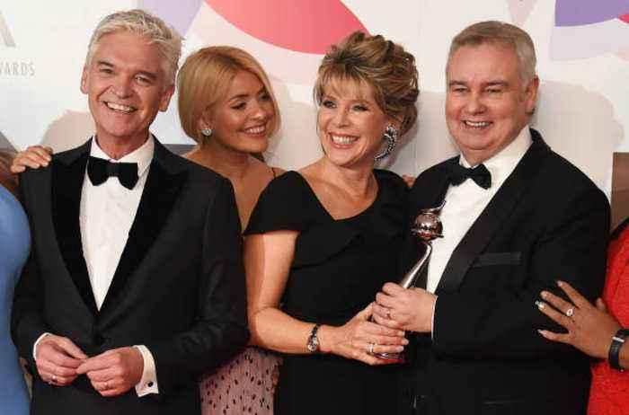 Ruth Langsford and Eamonn Holmes comfort Phillip Schofield as he comes out as gay