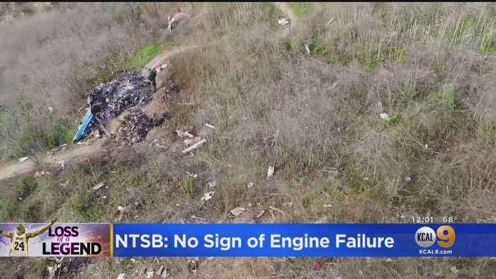 No Sign Of Engine Failure In Kobe Bryant Chopper Crash, NTSB Report Finds