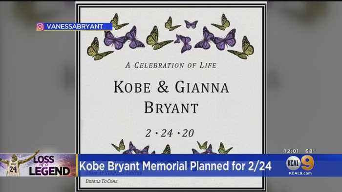 Vanessa Bryant Confirms 'Celebration Of Life' Ceremony For Kobe, Gianna