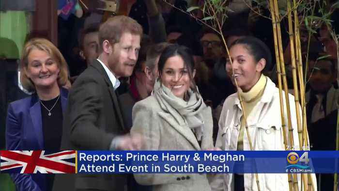 Prince Harry, Meghan Markle In South Florida
