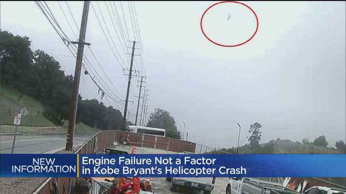 Engine Failure Not A Factor In Helicopter Crash That Killed Kobe, 8 Others