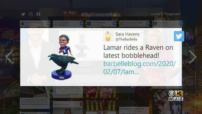Baltimore Buzz: New Lamar Jackson Bobblehead