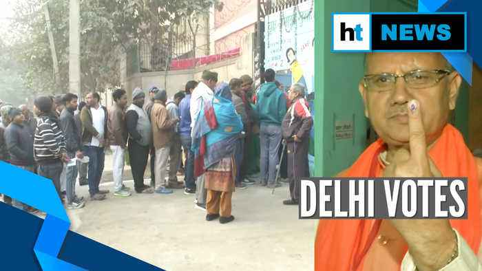 Delhi election 2020: Voting for 70-Assembly constituencies underway
