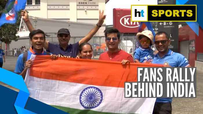 Watch: Fans hopeful as India take on New Zealand in 2nd ODI