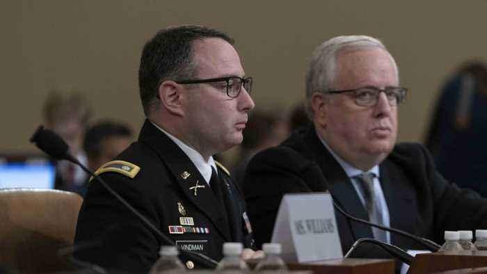 Trump defends firing of Lieutenant Colonel Alexander Vindman