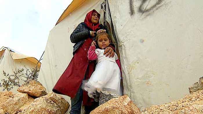 Idlib humanitarian crisis: Aid agencies struggling to help