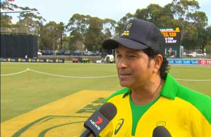 Cricket heroes come together for Australian bushfire victims