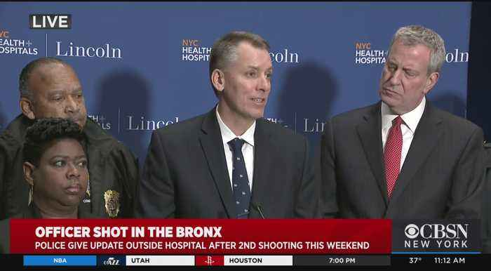 Mayor, NYPD Commissioner On Sunday Morning's 'Assassination' Attempt In Bronx Precinct House