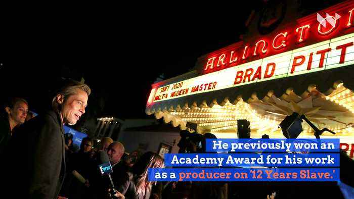 Brad Pitt Wins Best Supporting Actor at the 2020 Oscars