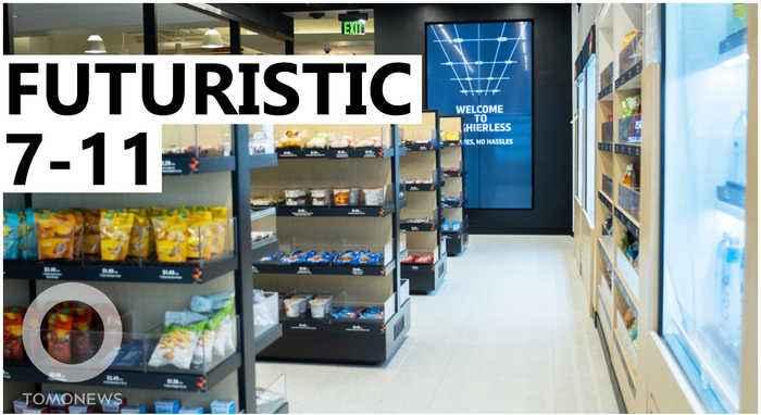 7-Eleven trials cashier-less convenient store