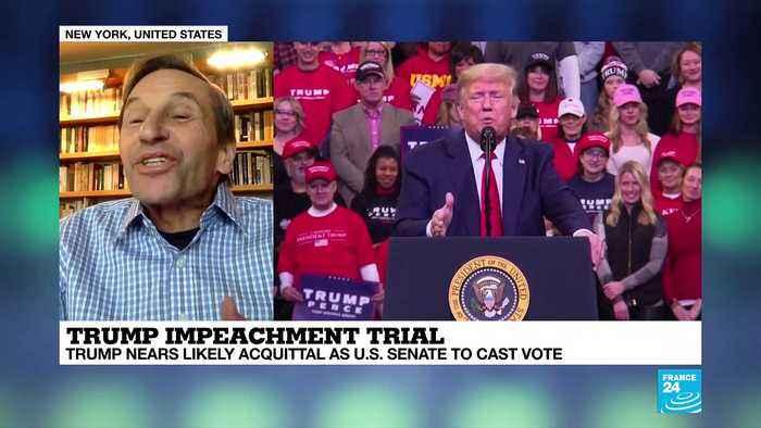 Dick Howard on Trump impeachment trial.