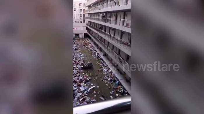 Chinese college apologises for disregarding students' belongings after turning dorms into coronavirus isolation wards