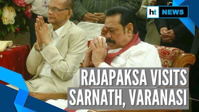 Day after meeting PM Modi, Sri Lanka PM prays at Sarnath Buddhist temple
