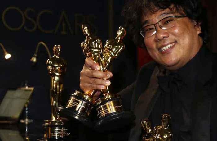 'Parasite' makes history at Oscars