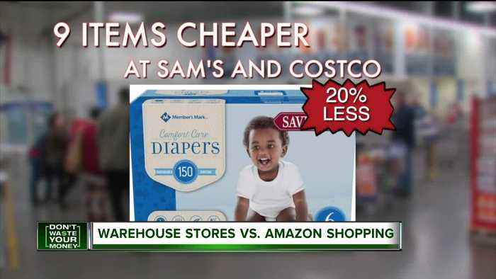 Here are the 9 things almost always cheaper at Sam's Club or Costco