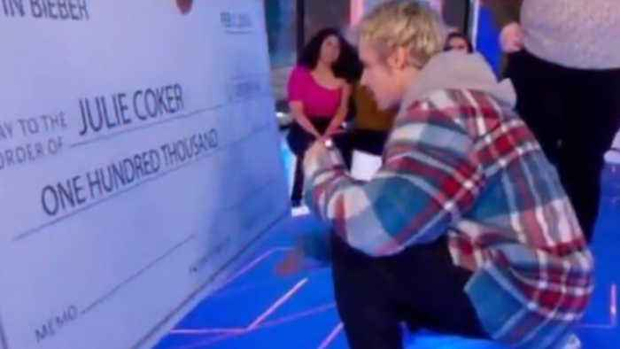 Justin Bieber donates money to fan for mental health awareness