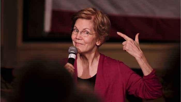 Warren Lags In Polls