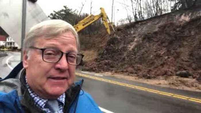 Reporter Update: Landslide Shuts Down Part Of Noblestown Road In West End