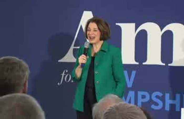 'We are now number three' in NH race: Klobuchar