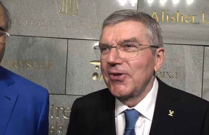 IOC chief Bach emotional as Olympic manifesto returns home