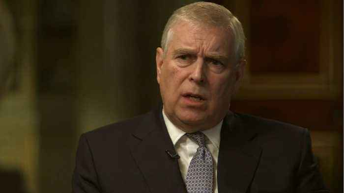 Prince Andrew's Name Gone From Website
