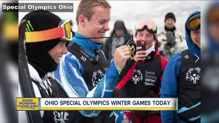 Ohio Special Olympics Winter Games today