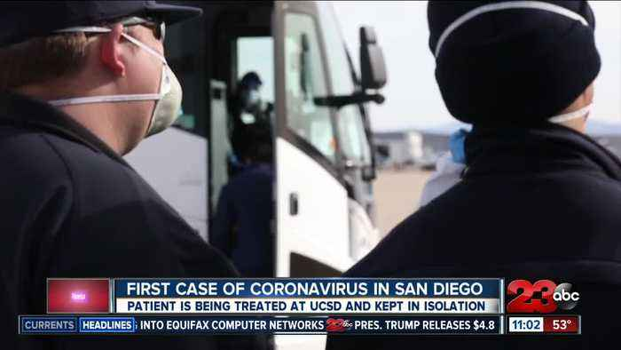 First case of coronavirus in San Diego