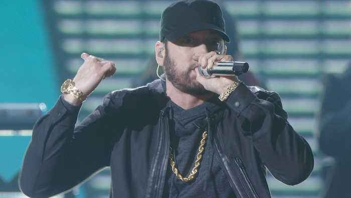 Eminem Performs 'Lose Yourself' at Oscars 2020