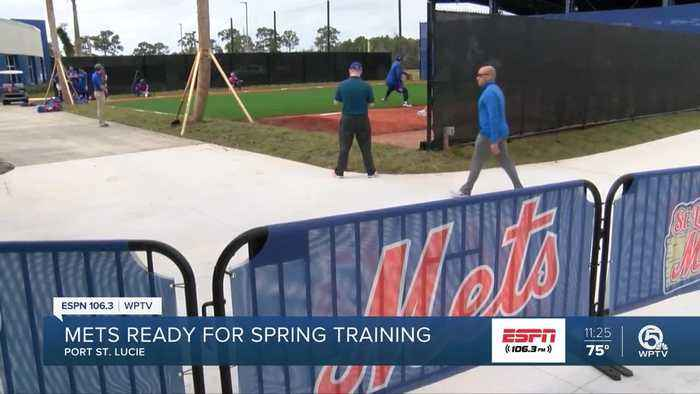 Mets pitchers and catchers report for Spring Training