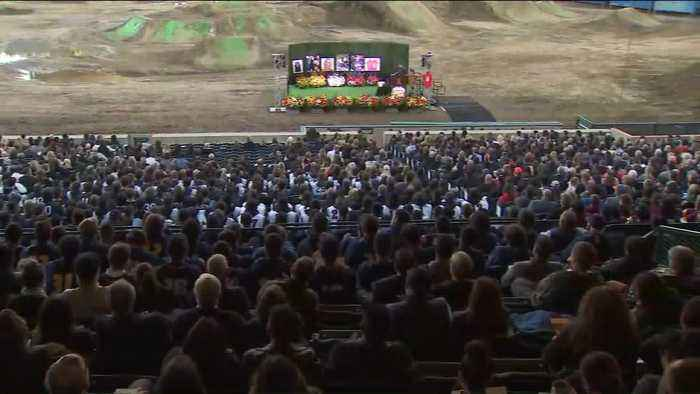 Altobelli Family Killed in Helicopter Crash Honored in Memorial Service at Angel Stadium