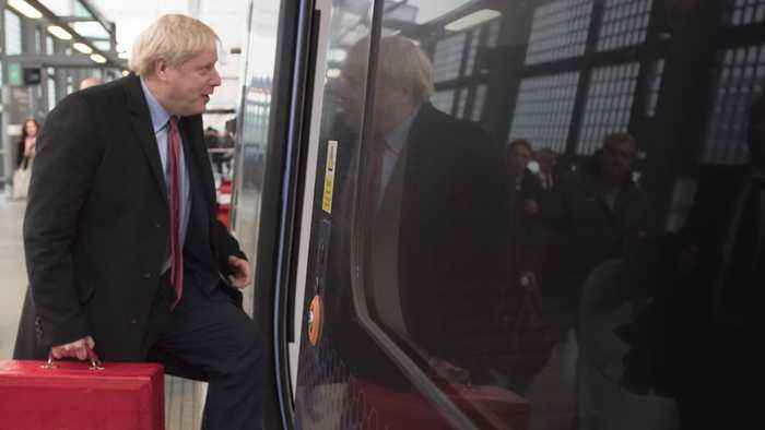 Boris Johnson expected to give HS2 the green light