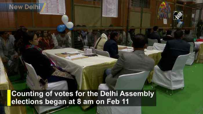 Delhi election results Counting of votes begins