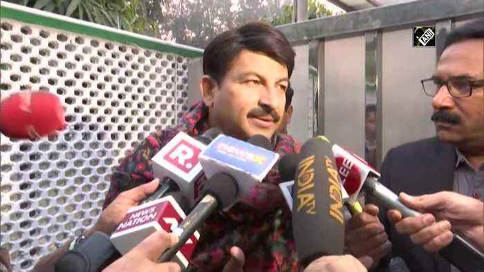 Delhi election results Not at all nervous, it will be a good day for BJP, says Manoj Tiwari
