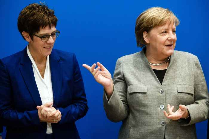 Merkel's favoured heir drops out of German chancellor race