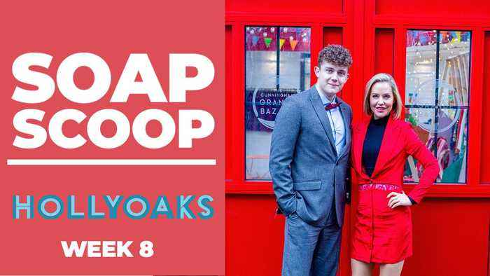 Hollyoaks Soap Scoop! Tom and Cindy's big launch day