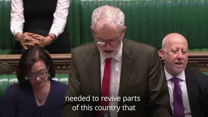 Corbyn attacks Government over HS2 costs